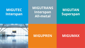MIGUA is the new brand name for Compriband Movement Joints